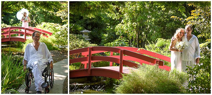 Miami Beach Botanical Gardens vow renewal by Nautilus Studio Photography